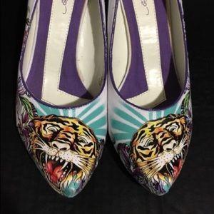 Ed hardy heels